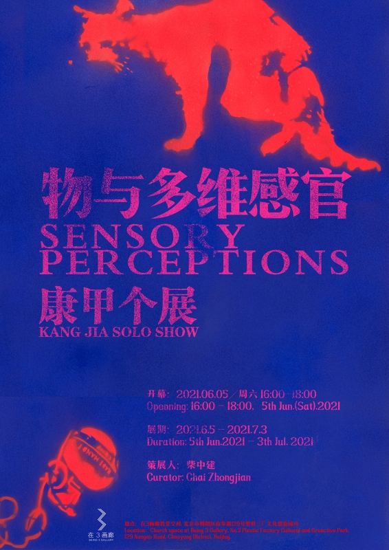 物与多维感官 - 康甲个展 Sensory Perceptions - Kang Jia Solo Show